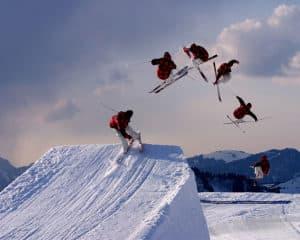 Skis freestyle