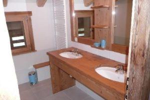 Salle d'eau, Le Chamois 2, Location appartements le Chinaillon Le Grand-Bornand