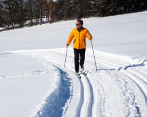 Location de skis de fond Le Grand-Bornand